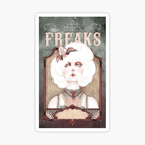 The Beauty Freaks - The Albino Sticker