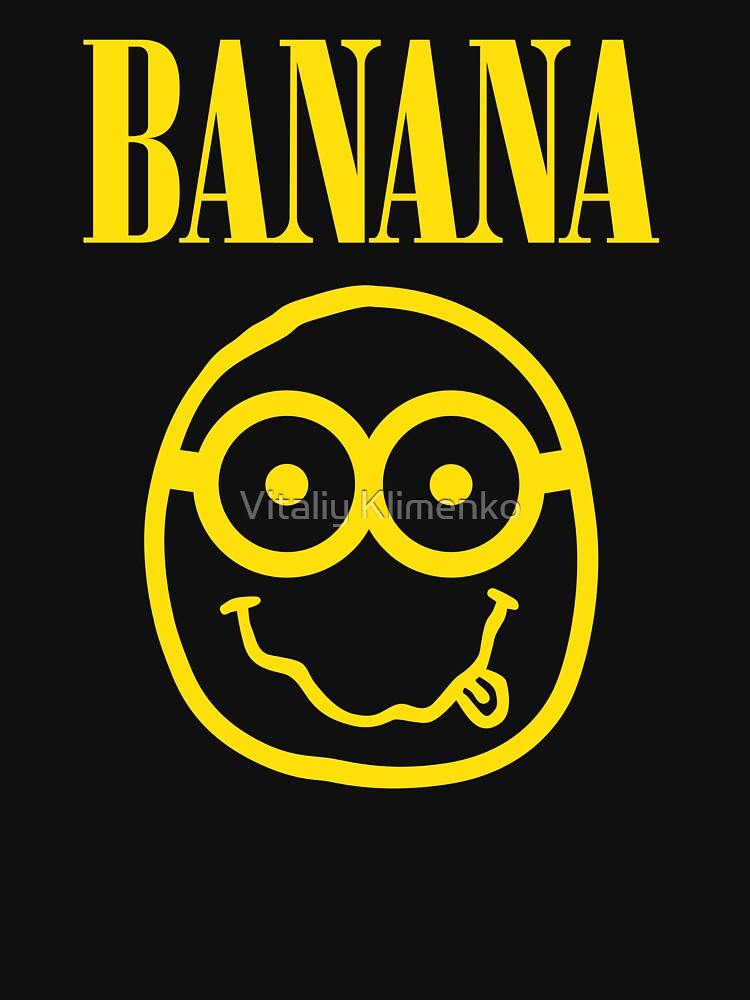 TShirtGifter presents: Nirvana Banana Logo | Unisex T-Shirt