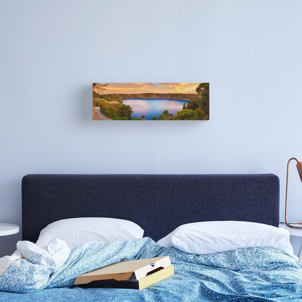 Blue Lake, Mount Gambier, South Australia Canvas Print