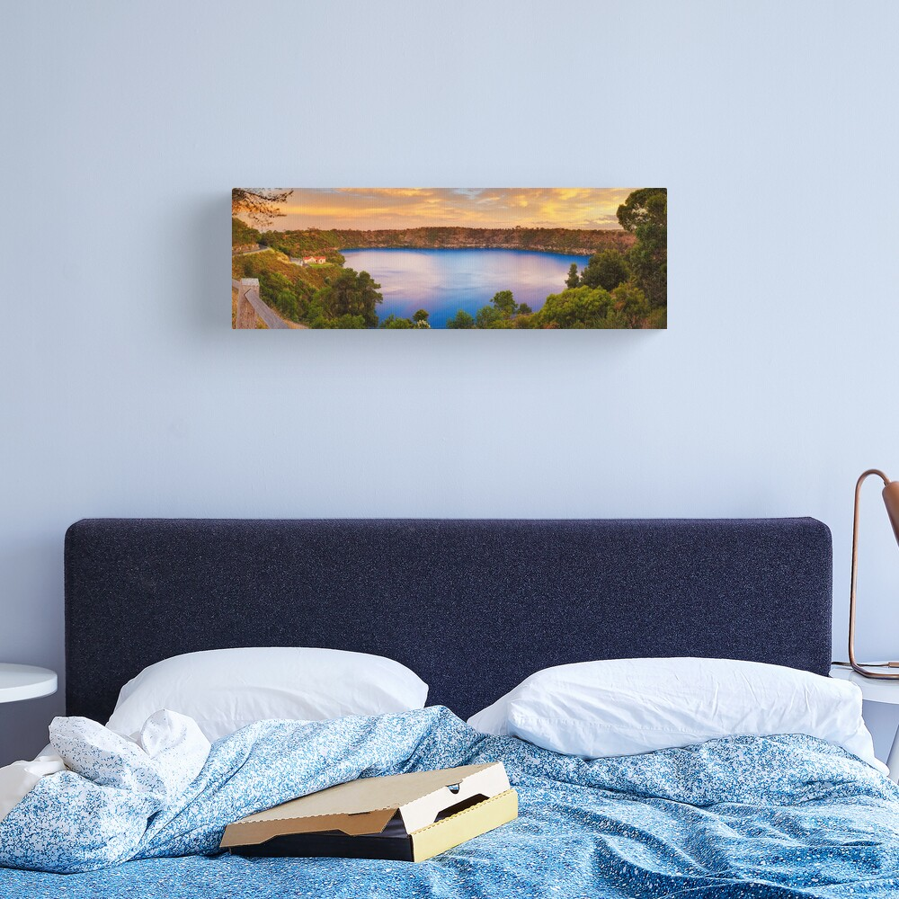 Blue Lake, Mount Gambier, South Australia Canvas Print