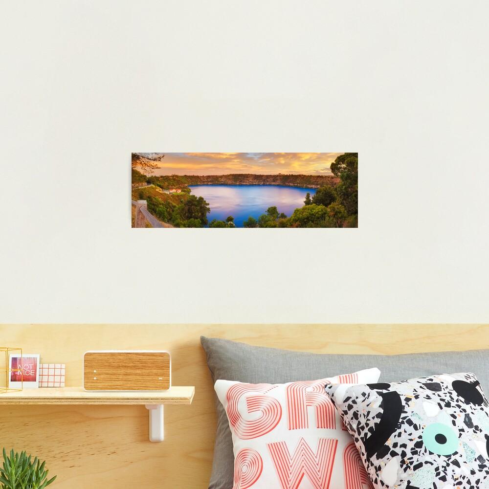 Blue Lake, Mount Gambier, South Australia Photographic Print