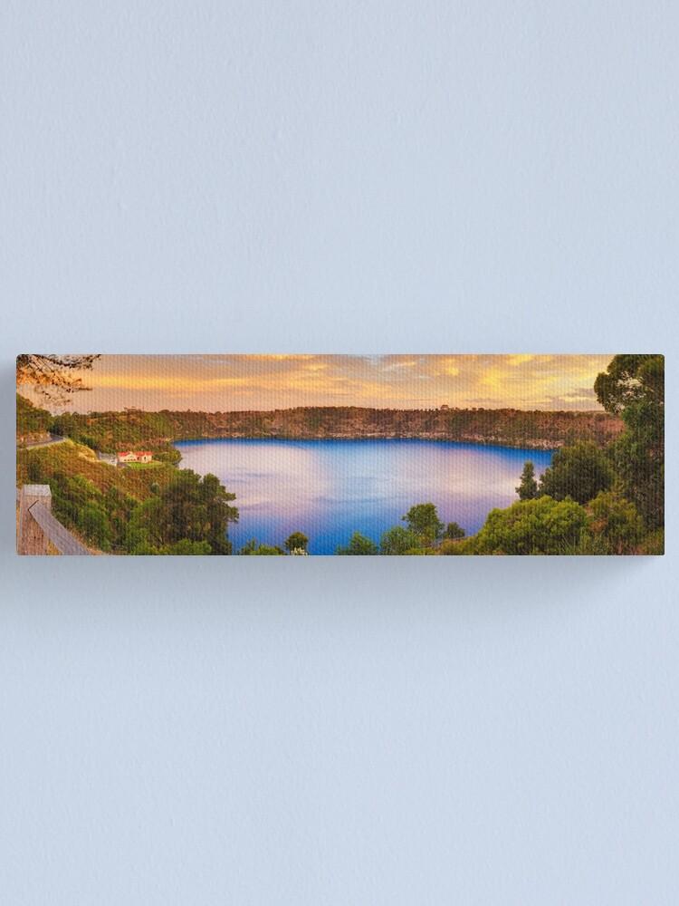 Alternate view of Blue Lake, Mount Gambier, South Australia Canvas Print