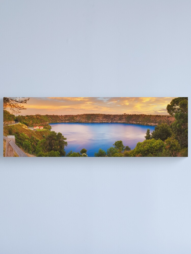 Alternate view of Blue Lake, Mount Gambier, South Australia Canvas Print