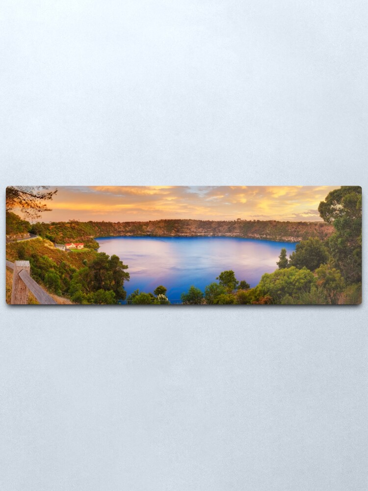 Alternate view of Blue Lake, Mount Gambier, South Australia Metal Print