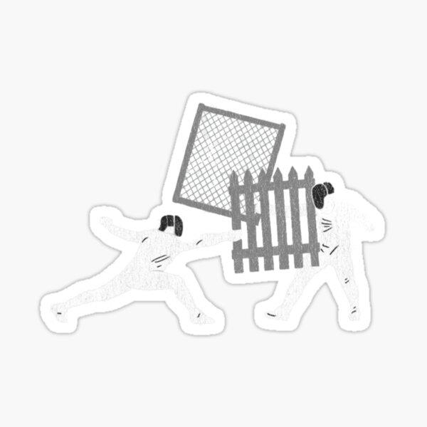 Ghetto Fencing Sticker
