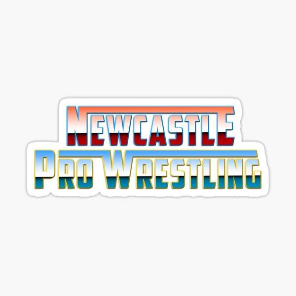 Newcastle Pro Wrestling Retro Logo Sticker
