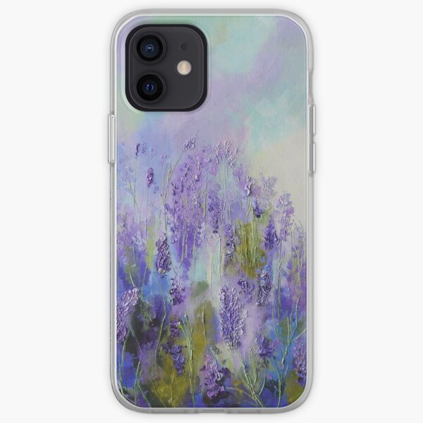 Memory of Lavender iPhone Soft Case