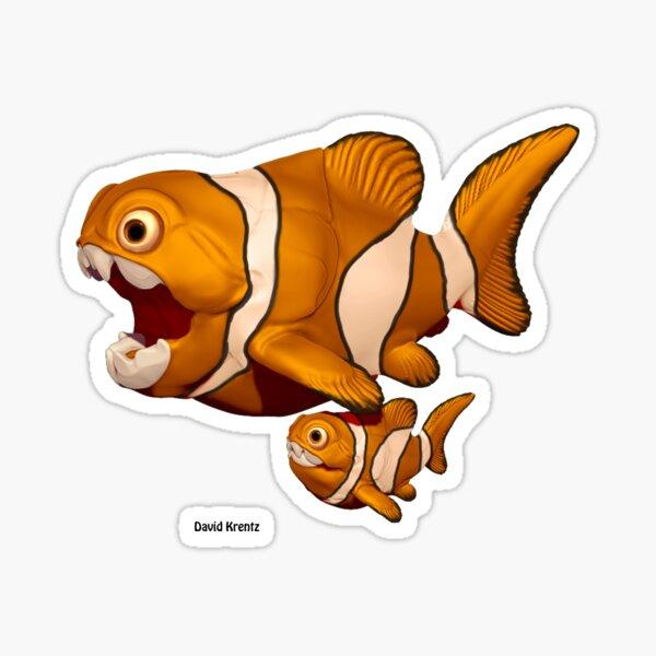 Fearing Nemo Sticker