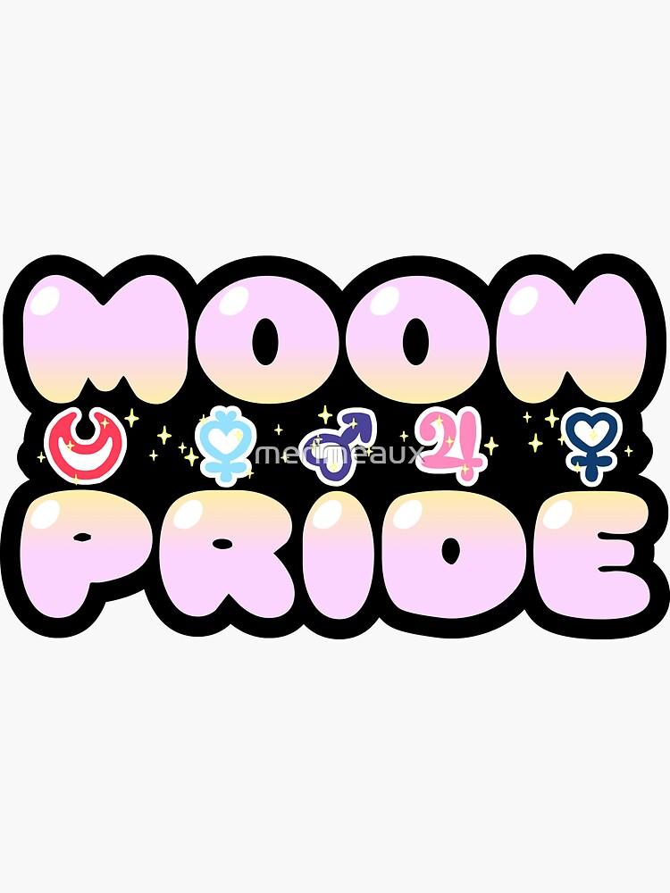 Sticker! Moon Pride (EN) by merimeaux