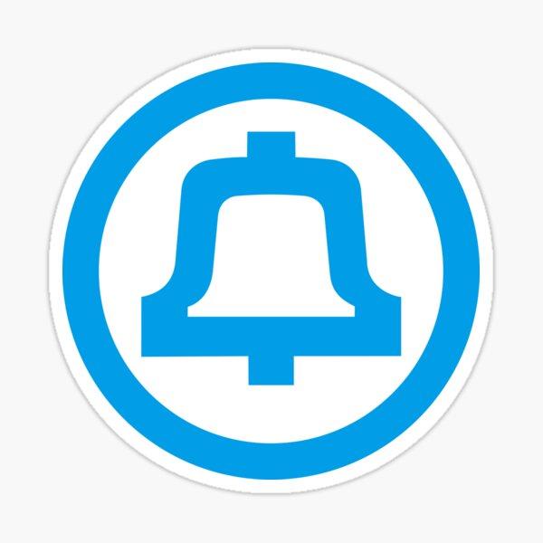 Bell Telephone Logo Sticker