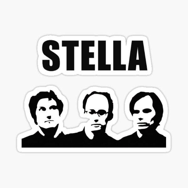 Stella - David Wain, Michael Showalter, Michael Ian Black Sticker