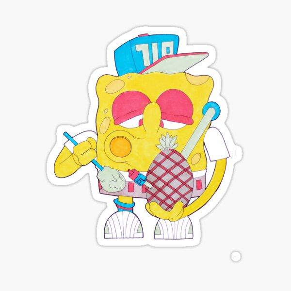 Spongebob Dabpants Sticker