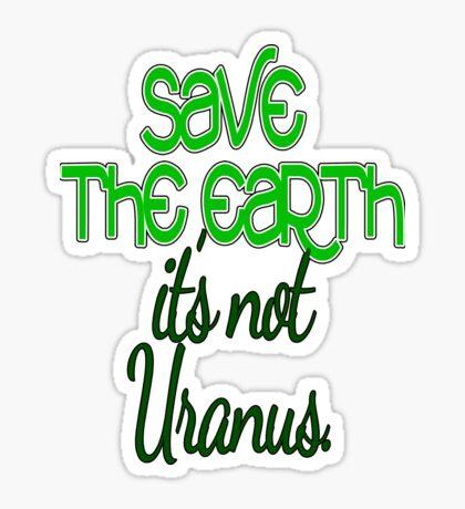 uranus. Sticker