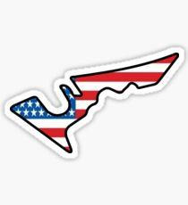 USA grand prix Sticker