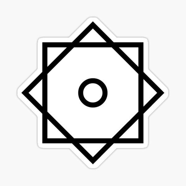 Arabic Star of Rub El Hizb ۞ Logo Faith no More Sticker