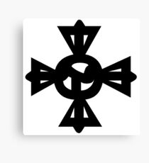 Cross Tibetan Symbol Rdo Rje Rgya Gram ࿇ Canvas Print