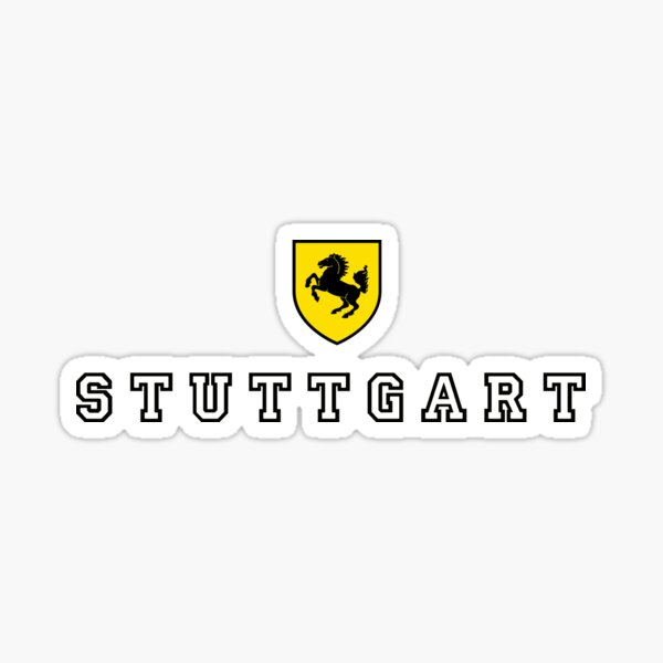 Stuttgart City Seal Sticker