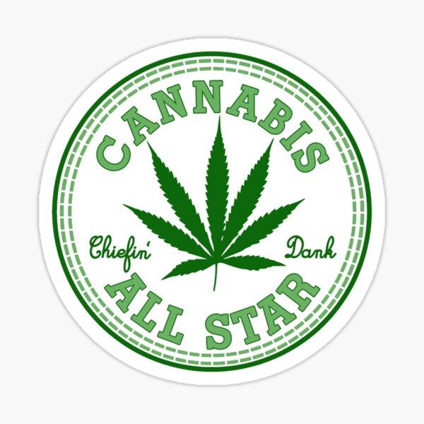 Cannabis All Star Pegatina