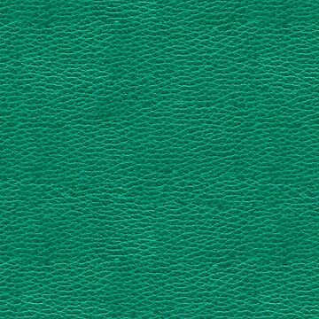 Green Emerald Kelly Faux Vegan Leather Look Pattern by jollypockets
