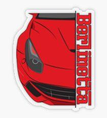 Berlinetta Transparent Sticker