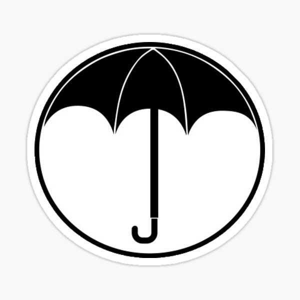 Umbrella Academy Pegatina