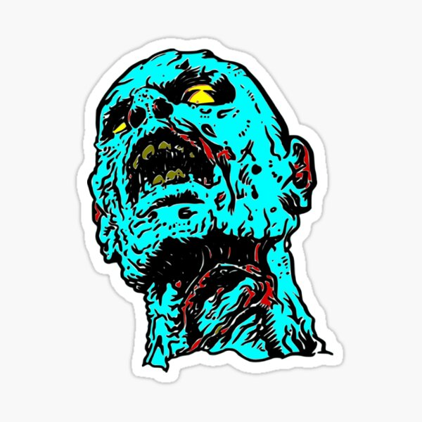 Zombi Sticker