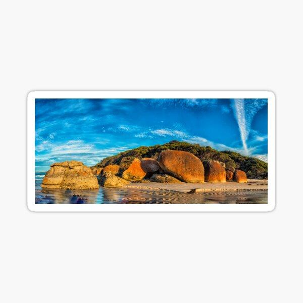 Squeaky Beach Panorama Sticker