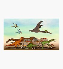 Mesozoic Procession Photographic Print