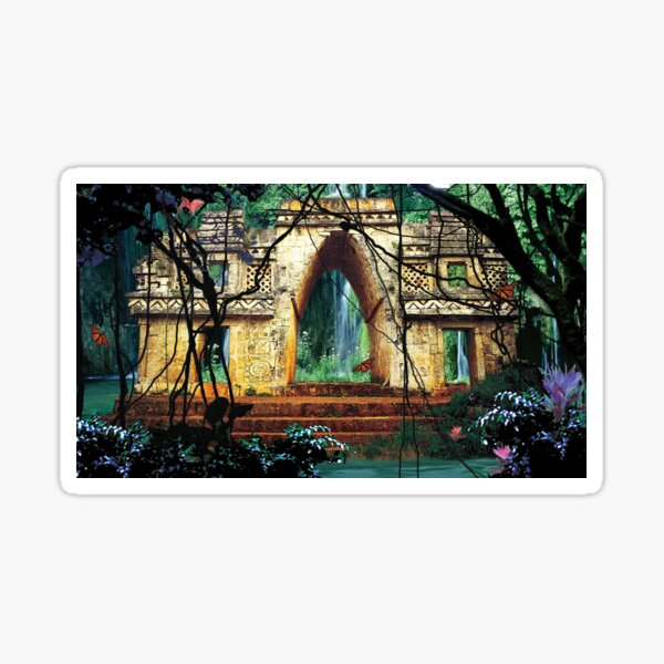 Temple of the Waters Sticker