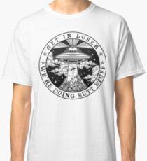 Camiseta clásica ENTRAR EN EL PERDIDO ESTAMOS HACIENDO BUTT STUFF