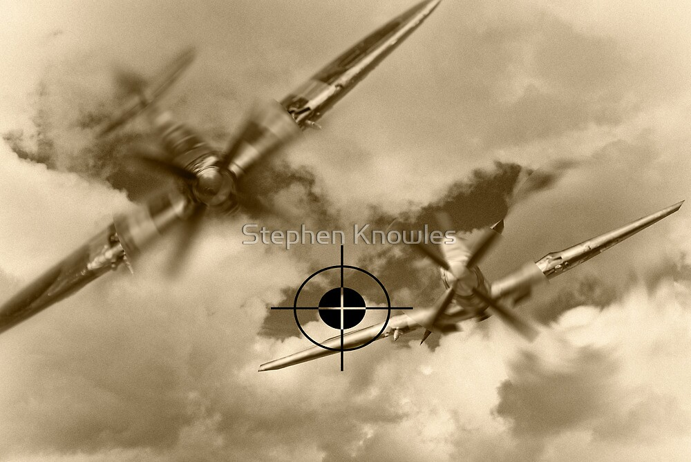 Spitfire vrs Messerschmitt by Stephen Knowles
