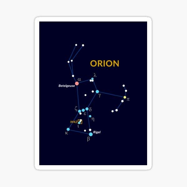 Constellation of Orion Sticker