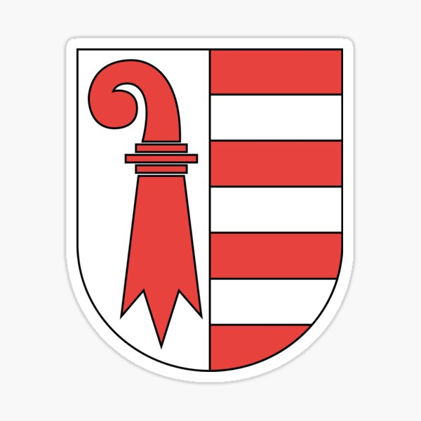 Coat of Arms of Jura Canton Sticker