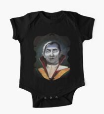Renaissance Victorian Portrait - Dracula One Piece - Short Sleeve