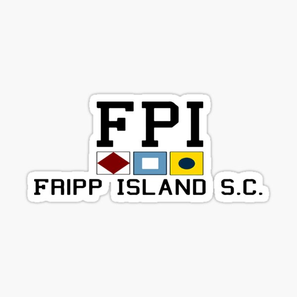 Fripp Island - South Carolina. Sticker