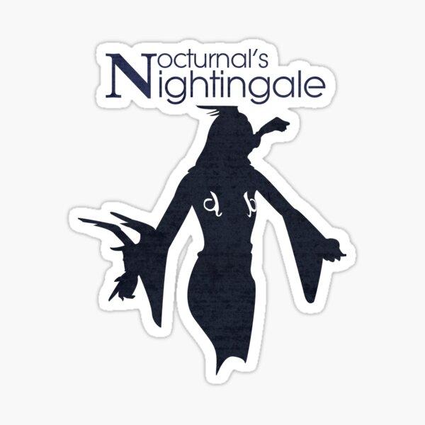 Nocturnal's Nightingale Sticker