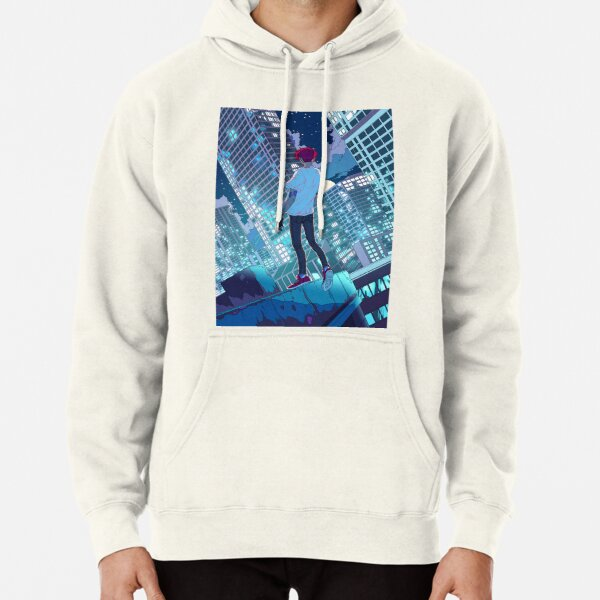 The fear of falling Pullover Hoodie