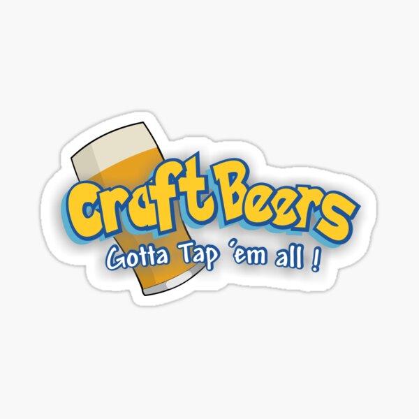 Pokemon meets craft beers Sticker