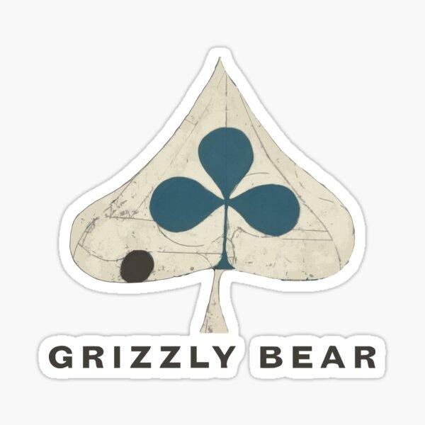 Grizzly Bear - Shields (Dark Text) Sticker