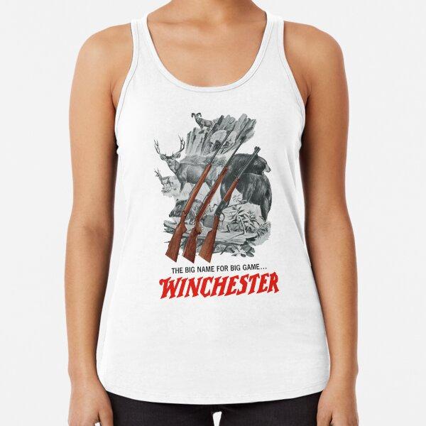 Winchester Slogan Racerback Tank Top