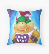 Bowser Jr Throw Pillow