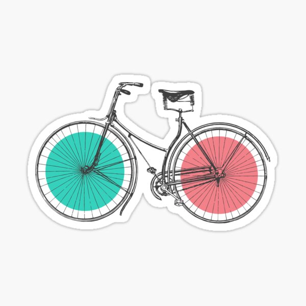 3D Bike Sticker