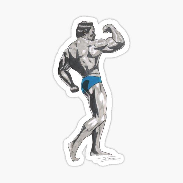 Mr Universe Sticker