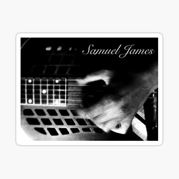 Samuel James Finger Picking Pic Sticker