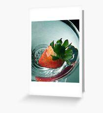 Strawberry Fayre Greeting Card