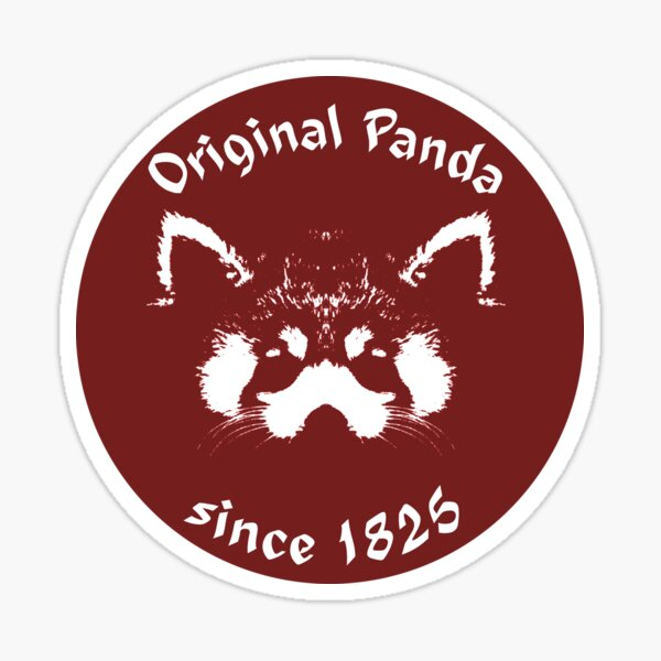Original Panda - Since 1825 Sticker