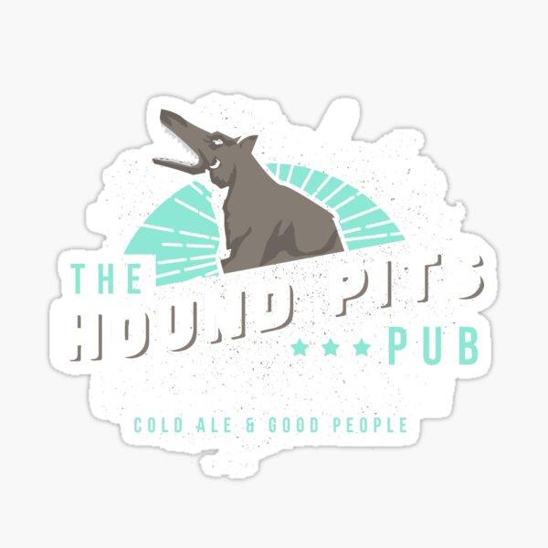 Dishonored - The Hound Pits Pub Sticker