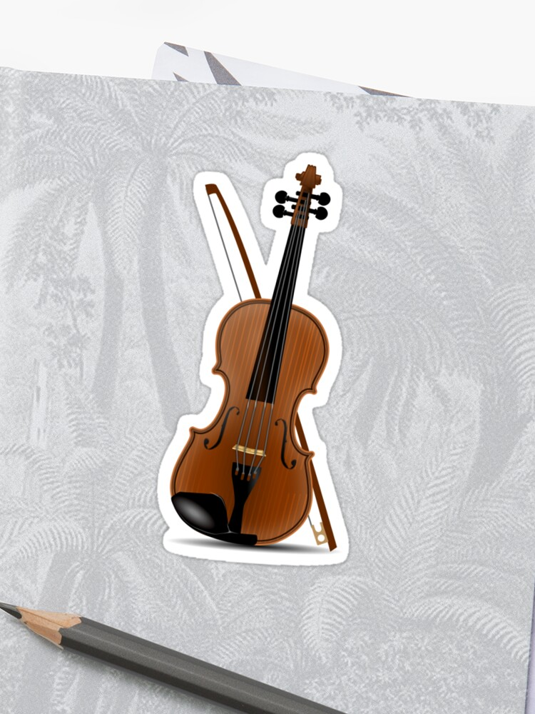 Violin Tees and Gifts Sticker