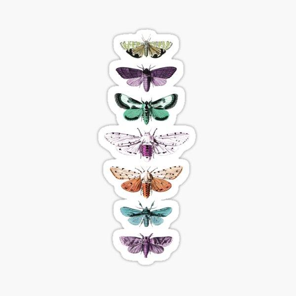 Techno Moth Collection Sticker