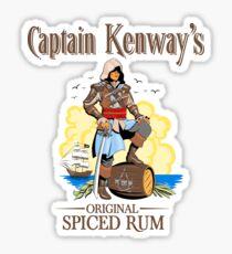 Captain Kenway's original rum Sticker